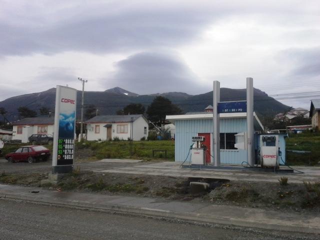 stacja benzynowa w Puerto Williams