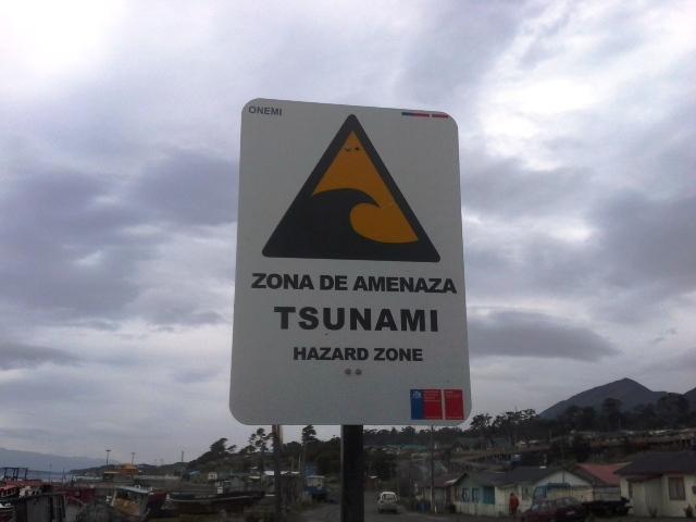 zona de tsunami